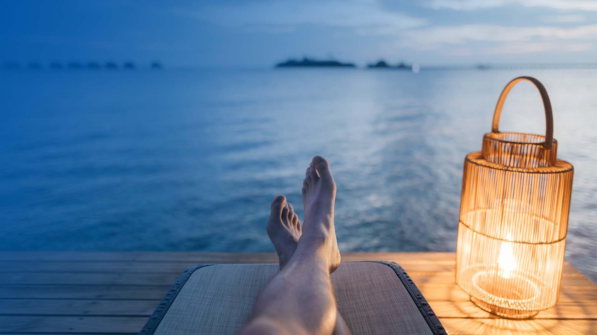 Relaxing Resort Pier image