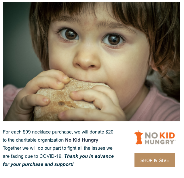Kays-Fine-Jewelry-Ad-No-Kid-Hungry-Bay-with-Sandwich