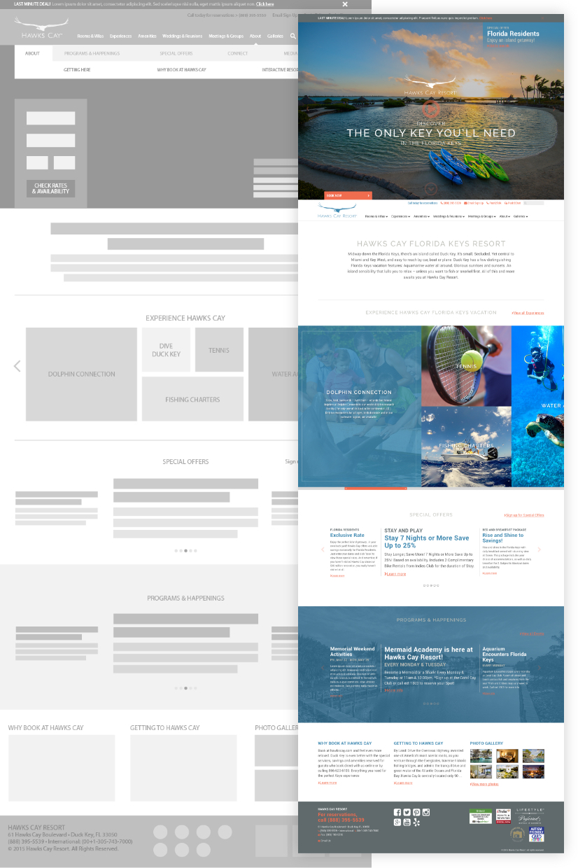 hawks-cay-website-wireframe-and-comp