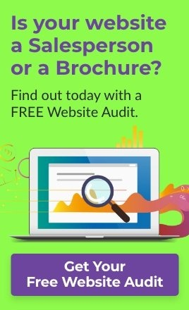 Is your website a Salesperson or a Brochure?